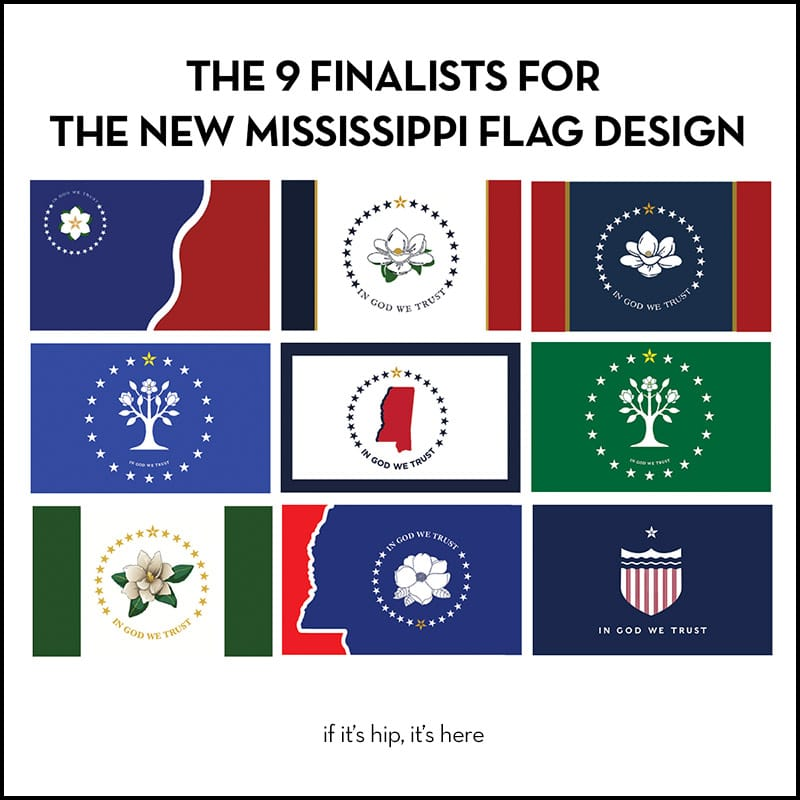 Finalists For New Mississippi Flag