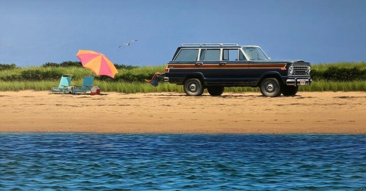 Forrest Rodts Immortalizes His Nantucket Summers In Acrylics.