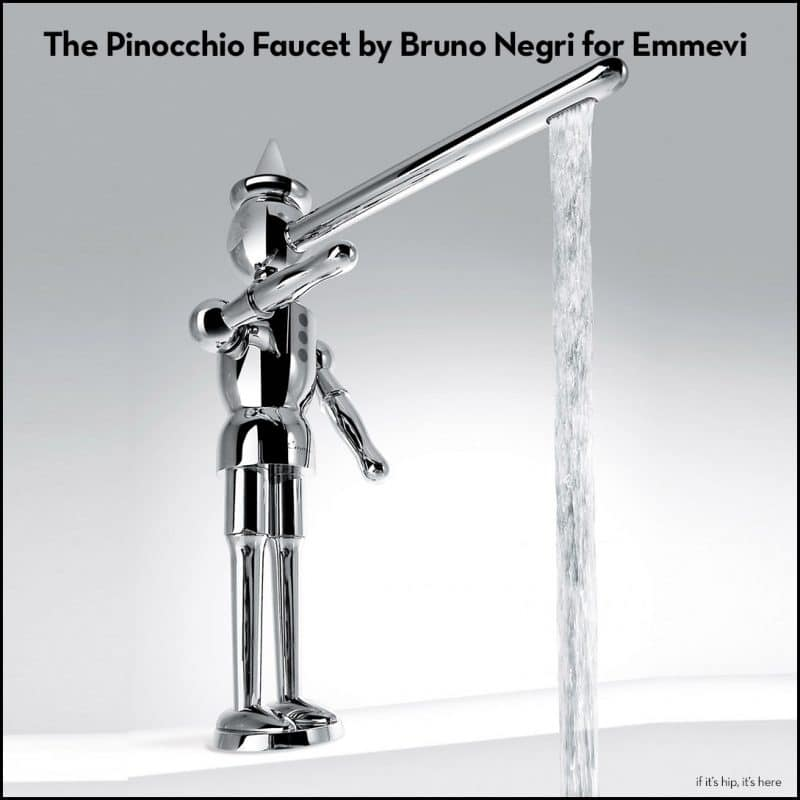 the pinocchio faucet