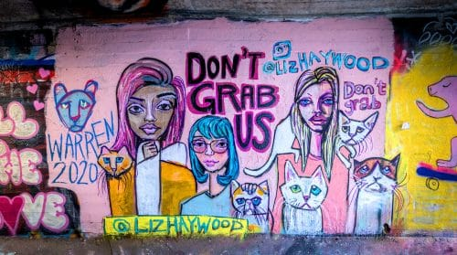 Read more about the article Feminist and Anti-Trump Art That's As Fun As It Is Furious.