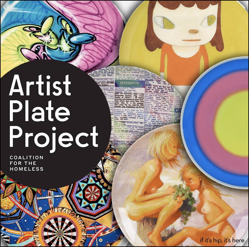 Artist Plates Feed The Homeless in New York