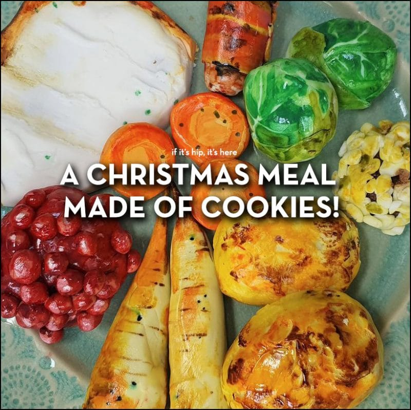 christmas cookie lunch