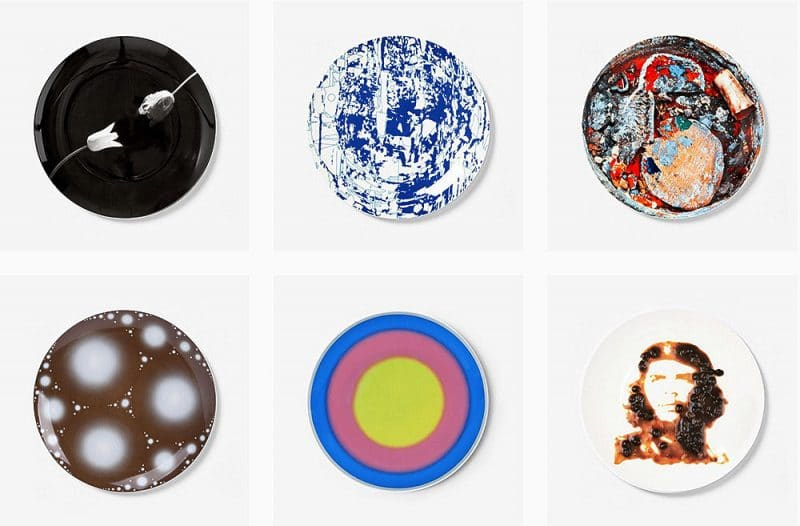 artist plates for charity