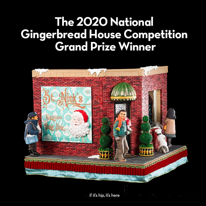 The 2020 National Gingerbread House Competition Grand Prize Winner