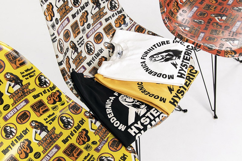 modernica and Hysteric Glamour collaboration