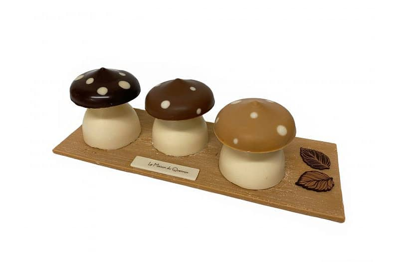 chcolate mushrooms from france