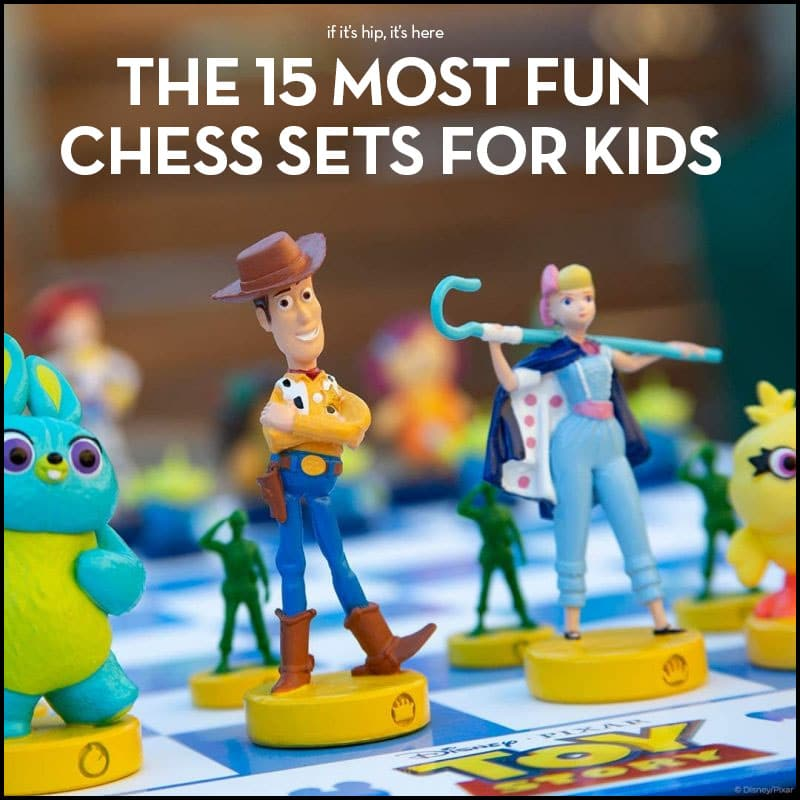 The most fun chess sets for kids