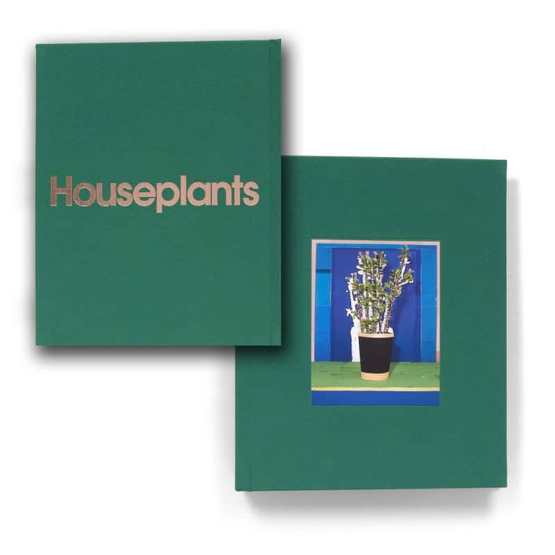 houseplants pop up book front and back