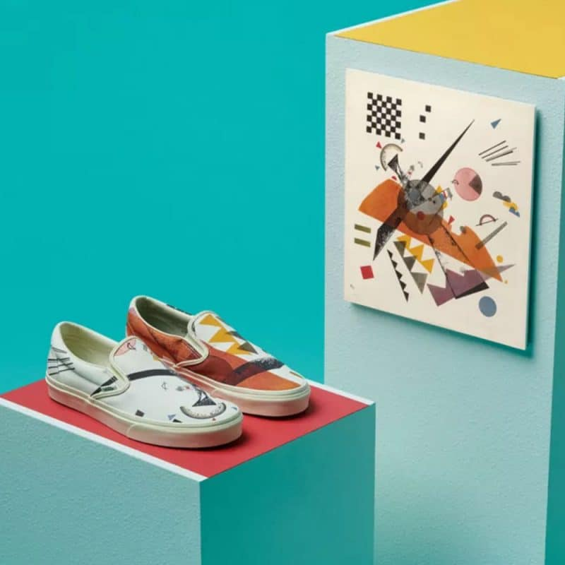 kandisnksy art and shoes