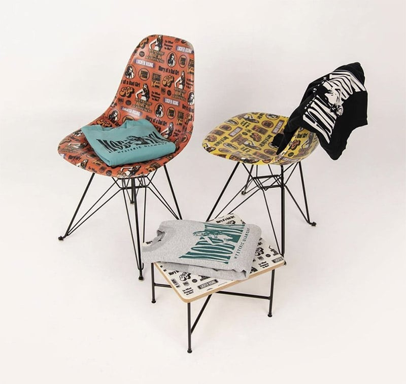 modernica hysteric glamour capsule collection