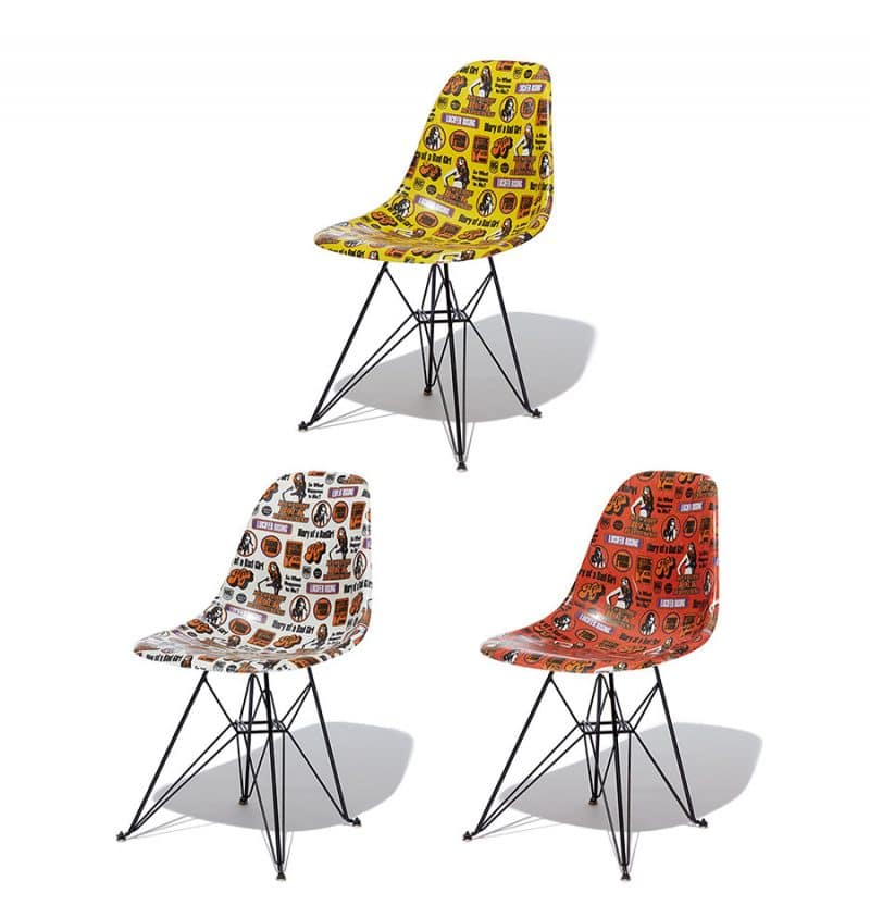modernica hysteric glamour shell chairs