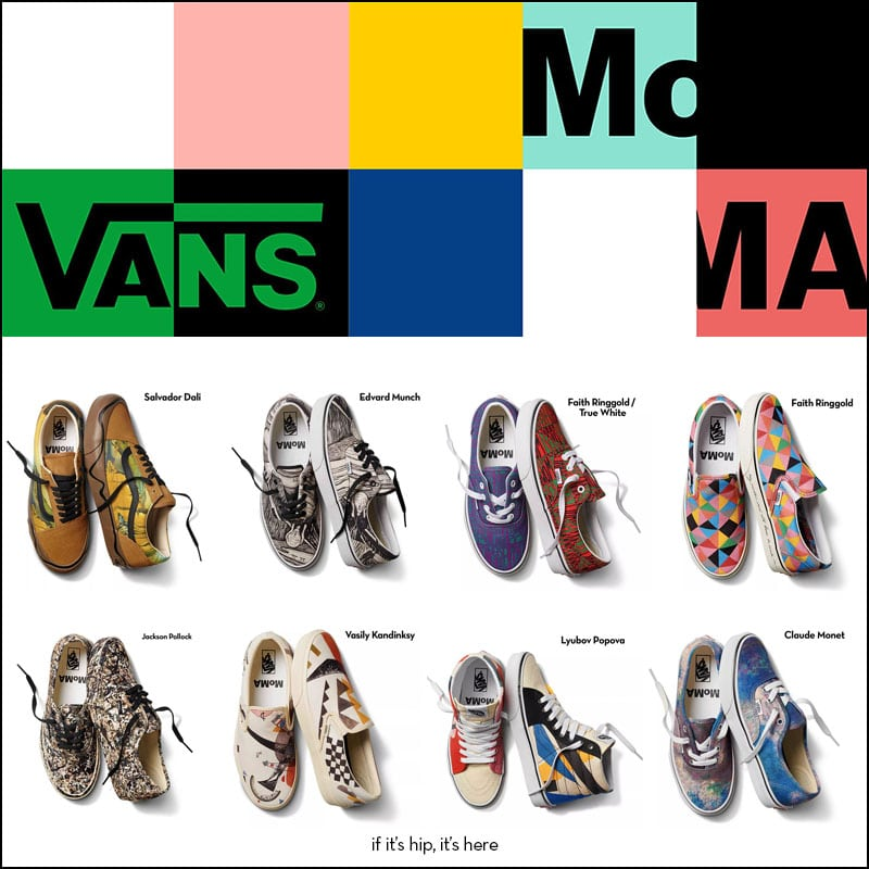 vans x moma collection