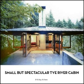 The Small But Spectacular Tye River Cabin by Olson Kundig