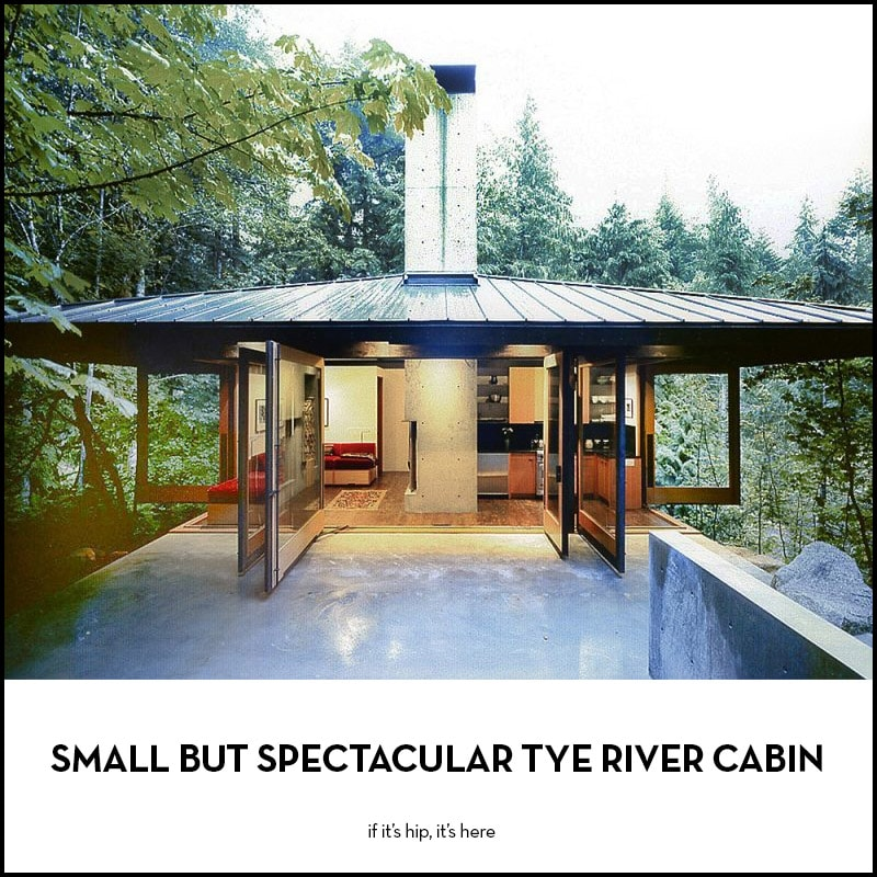 Small But Spectacular Tye River Cabin