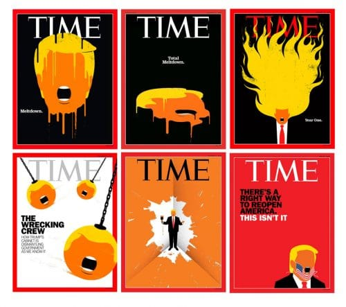 Read more about the article The Artist Whose Minimalist Trump Became A World Icon