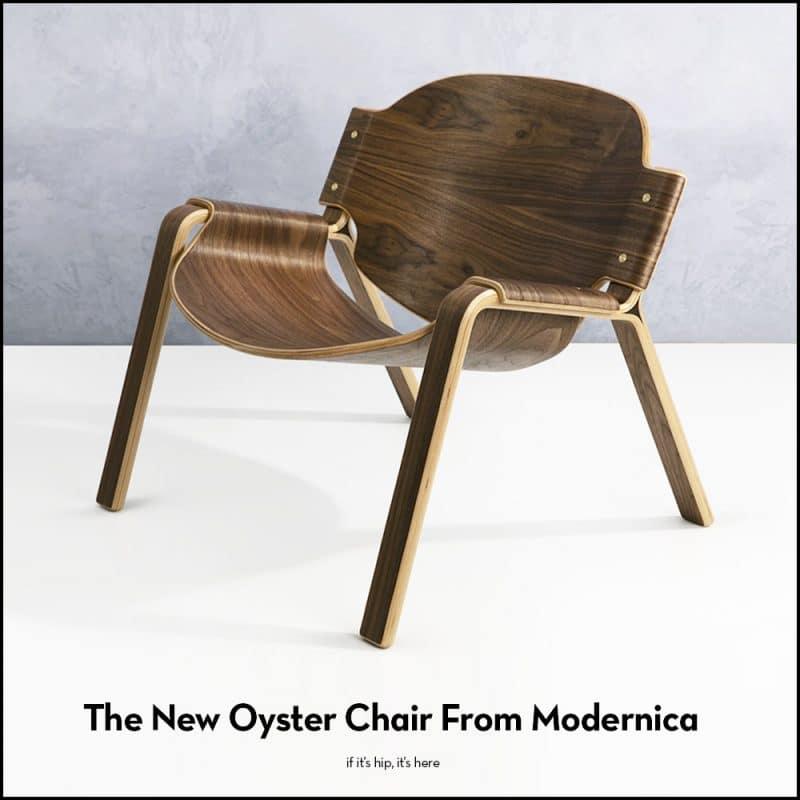 Oyster Chair from Modernica