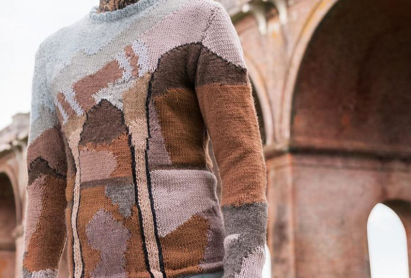 viaduct sweater detail