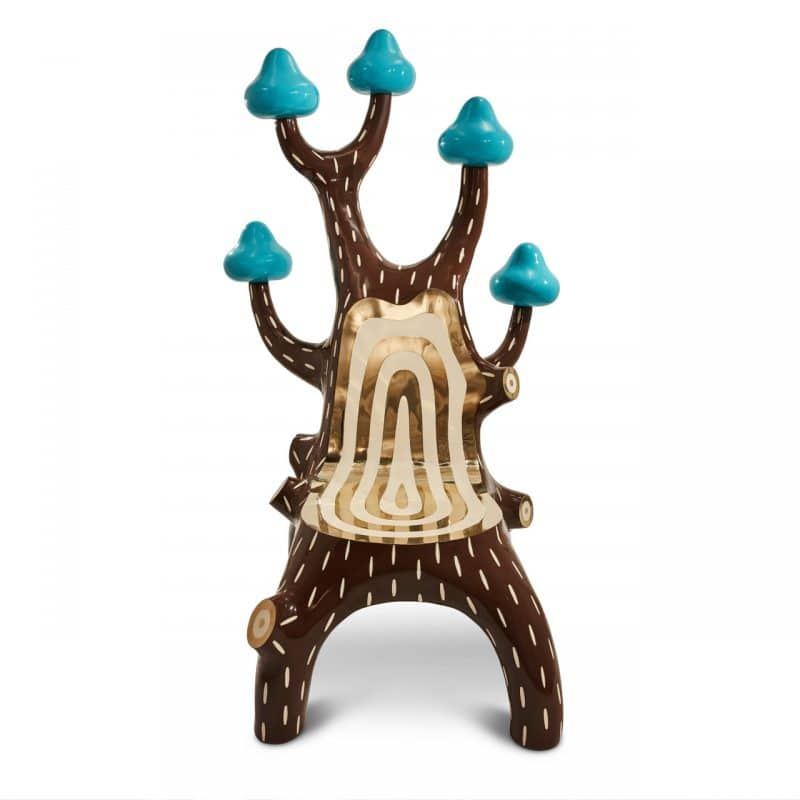 forest collection tree chair