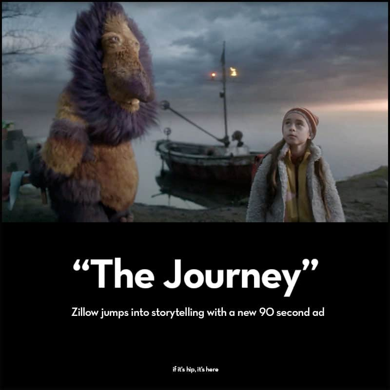 new Zillow ad The Journey
