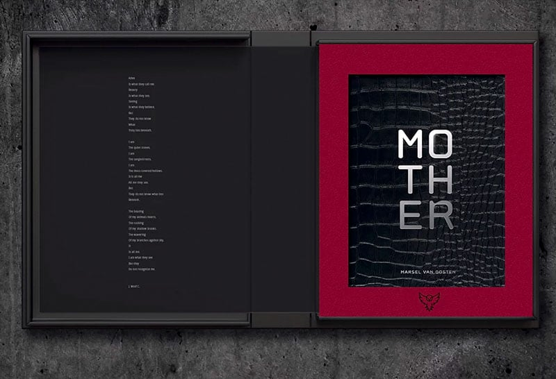 mother collectors edition clamshell box