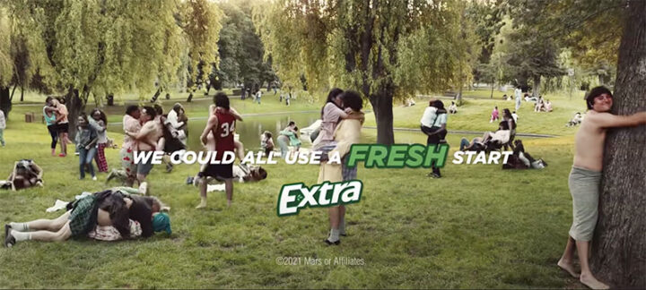 """EXTRA Gum Launches 2.5 minute ad """"For When It's Time"""""""