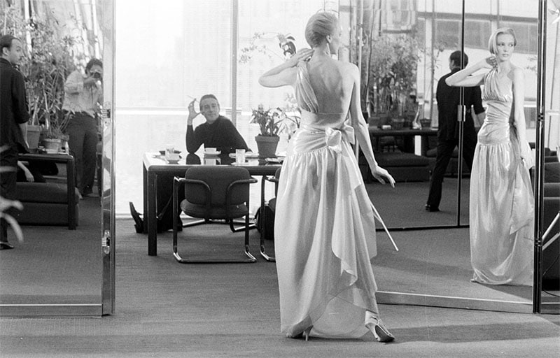 real halston in olympic towers office