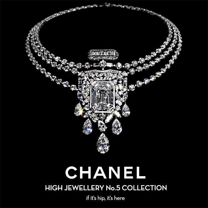 Read more about the article CHANEL Celebrates 100 Years of N°5 with Some Serious Bling