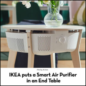 IKEA Puts A Smart Air Purifier In An End Table