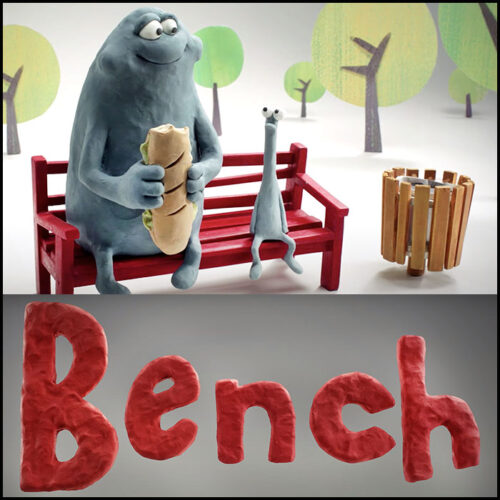 Read more about the article Bench: A Claymation Short About Sharing.