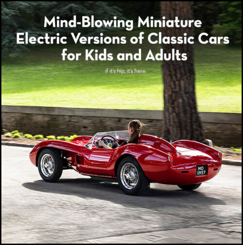 Read more about the article Mind-Blowing Miniature Electric Versions of Classic Cars
