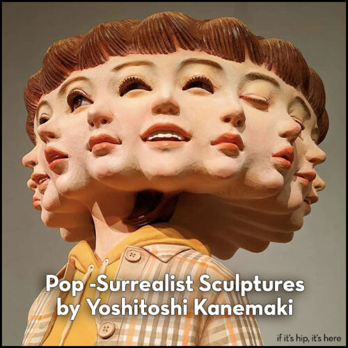 Read more about the article Pop-Surrealist Sculptures by Yoshitoshi Kanemaki