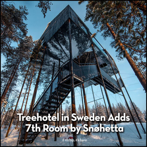 Read more about the article Treehotel in Sweden Adds 7th Room by Snohetta