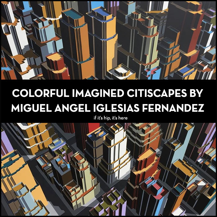 Imagined Citiscapes by Miguel Angel