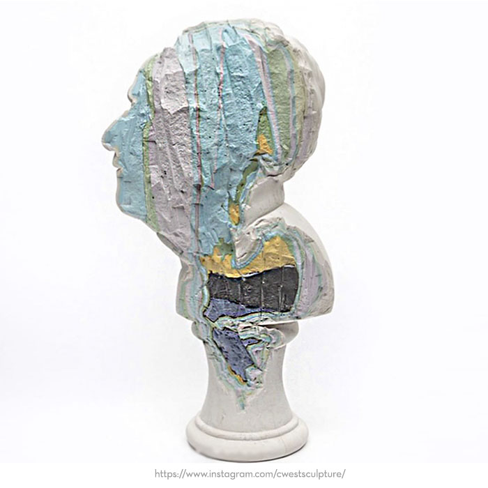 contemporary sculptural busts