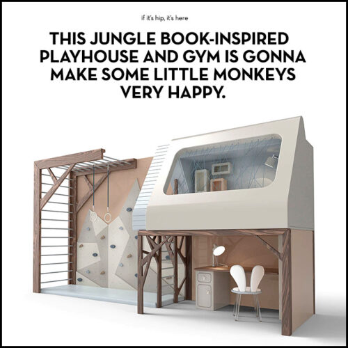 Read more about the article Kids Are Gonna Go Ape For This Jungle Book-Inspired Playhouse and Gym