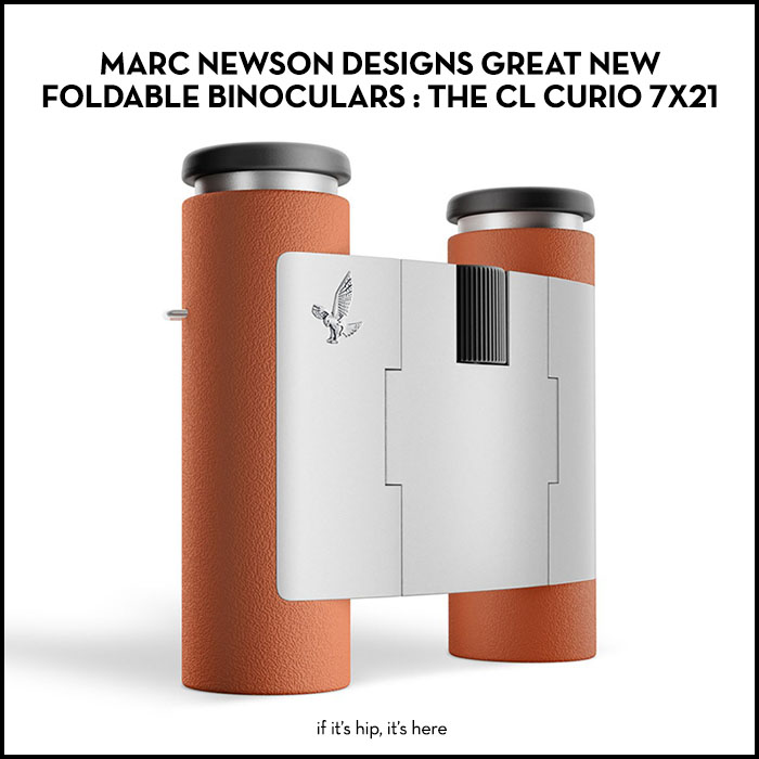 Read more about the article Marc Newson Gives Pocket Binoculars A Great New Design