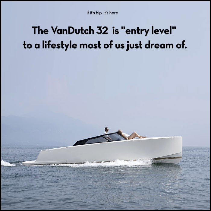 """Read more about the article The VanDutch 32 Is """"Entry Level"""" To A Lifestyle Most Of Us Just Dream Of."""
