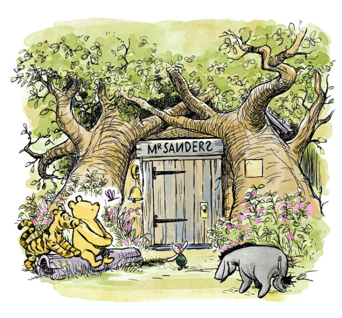 pooh house airbnb