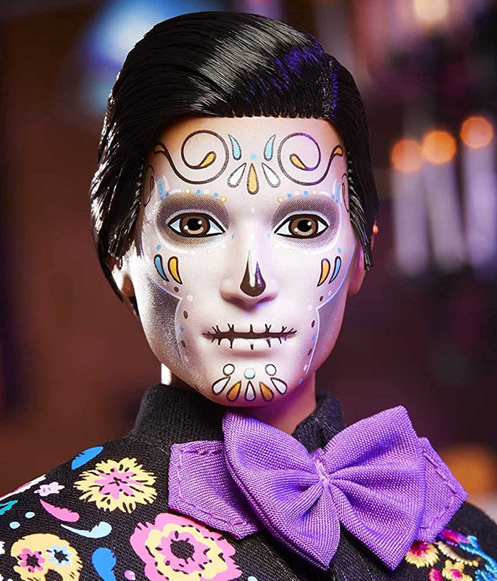day of the dead ken doll