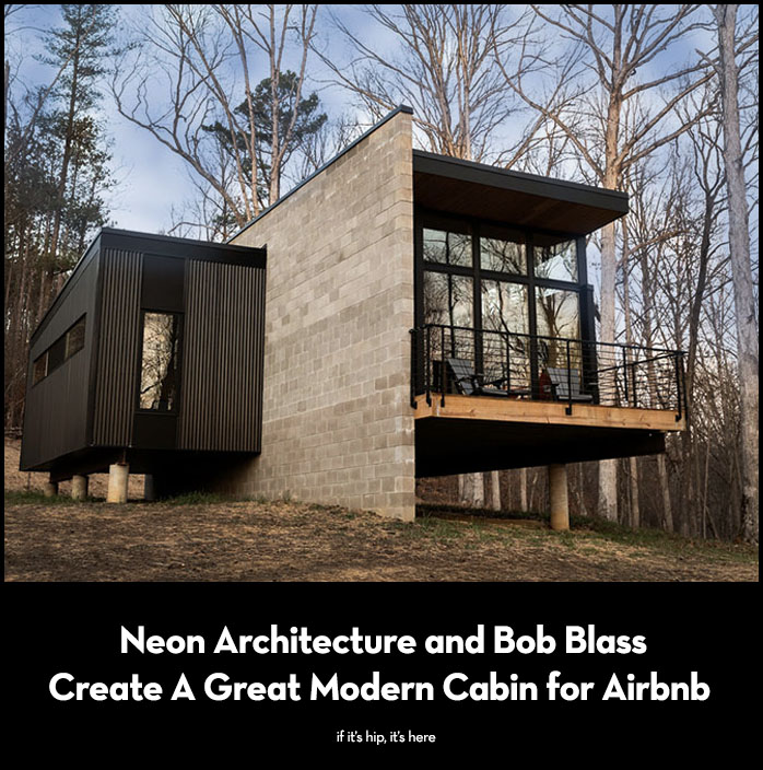 Read more about the article Plāhaus Modern Cabin by Neon Architecture on Airbnb