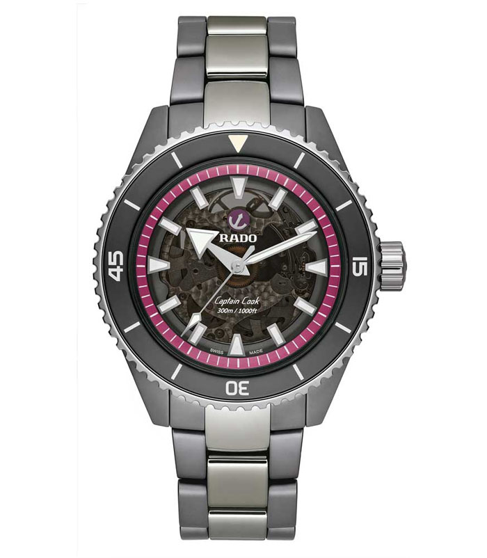 Rado Captain Cook High-Tech Ceramic for Pink Dial Project