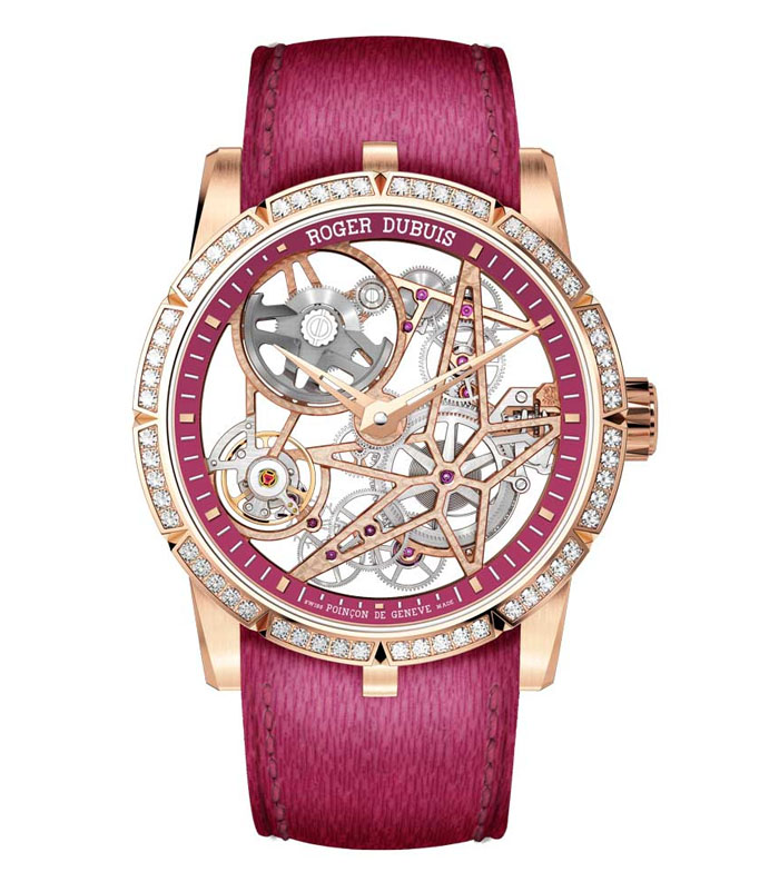 Roger Dubuis Excalibur Automatic Skeleton for pink dial project