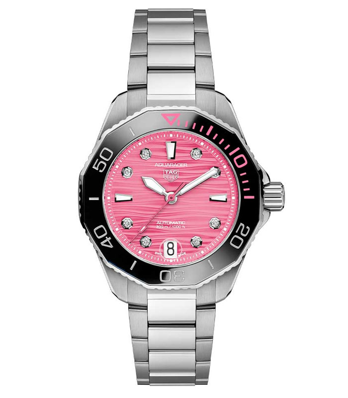 TAG Heuer Aquaracer Professional 300 Pink Dial Project