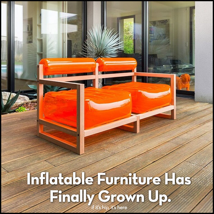 grown-up inflatable furniture