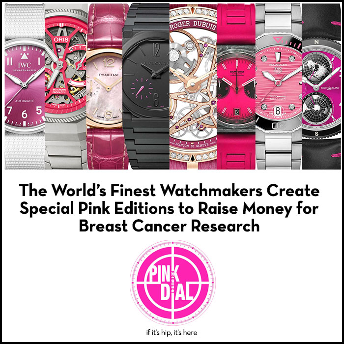 Read more about the article Watchmakers Put On Pink for Breast Cancer Awareness. The Pink Dial Project Watch Auction.