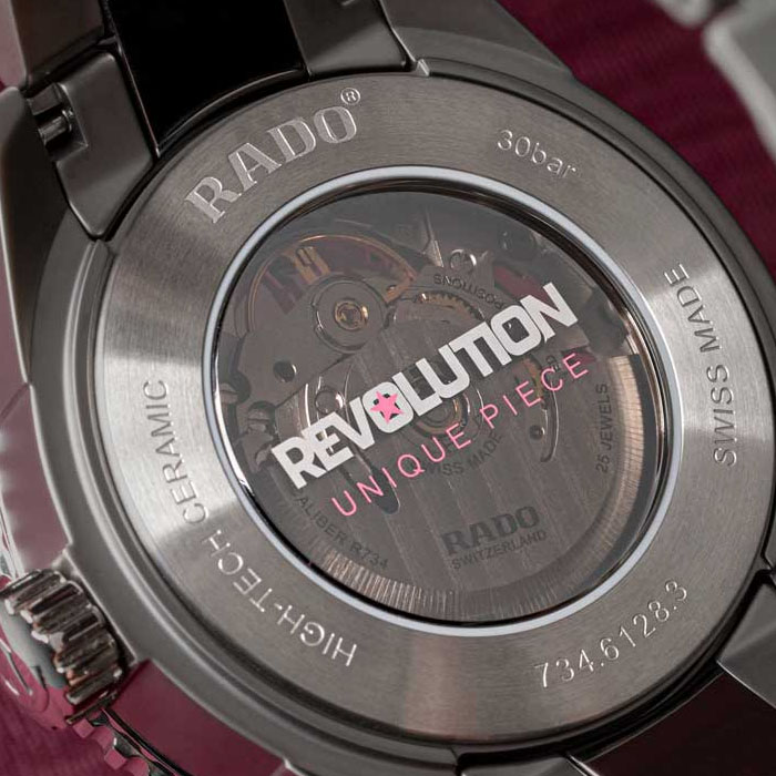 luxury watch auction for breast cancer awareness