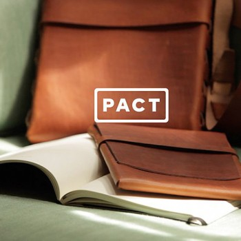 Threadless and Glueless, PACT Products Are Like Luxurious Leather Origami.