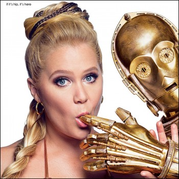 Amy Schumer as Star Wars Princess Leia for GQ – All The Photos & More.