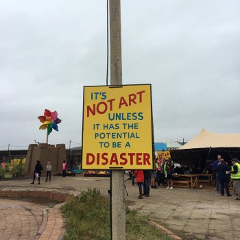 The Art Guide To Dismaland – Banksy's Bemusement Park (58 photos)