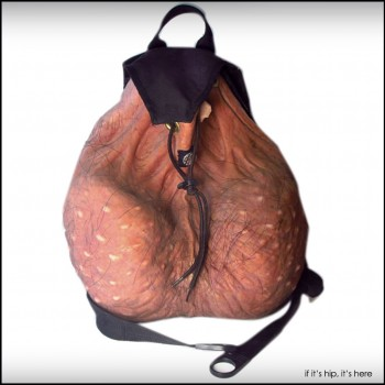The Scrote 'n' Tote Nut Sack Backpack You Can Buy. For Reals.